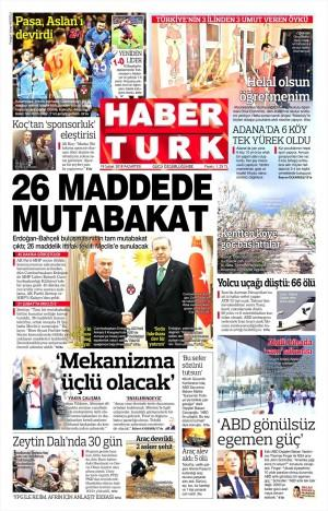 Habertürk Gazetesi