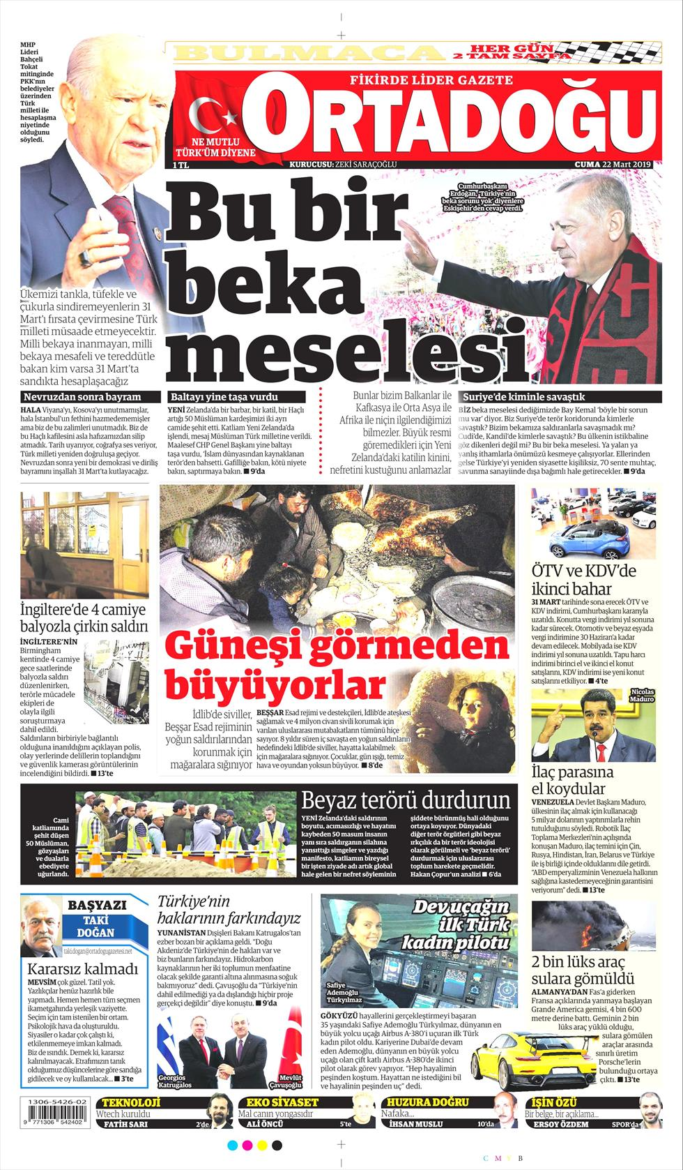 Ortadoğu Gazetesi