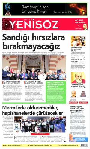 Yenisöz Gazetesi